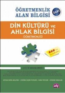 Öğretmenlik Alan Bilgisi Din Kültürü ve Ahlak Bilgisi Öğretmenliği - ÖABT