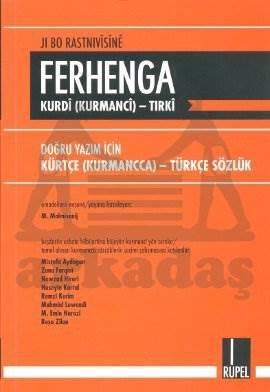 Ferhenga-Kürtçe Türkçe Sözlük