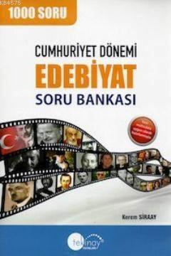 Cumhuriyet Dönemi Edebiyat -Sb- 1350 Soru