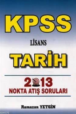 KPSS Lisans Tarih Nokta Atış Soruları