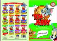 Tom and Jerry Sebzeler Boyama
