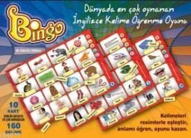 Bingo İngilizce Kelime Öğrenme Tombala Oyunu