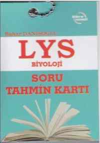 LYS Biyoloji Soru Tahmin Kartı