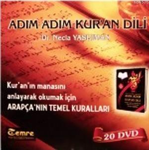 Adım Adım Kur'an Dili Dvd Seti; 20 Dvd