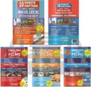 English With Films - 10 Derste-10 Haftada Hızlı-Kolay İngilizce Öğrenme Seti - 3DVD+1 VCD