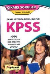 Form-Mat KPSS Genel Yetenek-Genel Kültür Tamamı Çözümlü Çıkmış Sorular 1999-2009