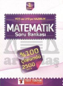 YGS ve LYS'ye Hazırlık Matematik Soru Bankası 1. Kitap