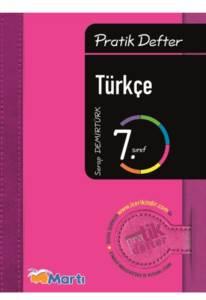 7.Pratik Defter Turkce-Ogrenci