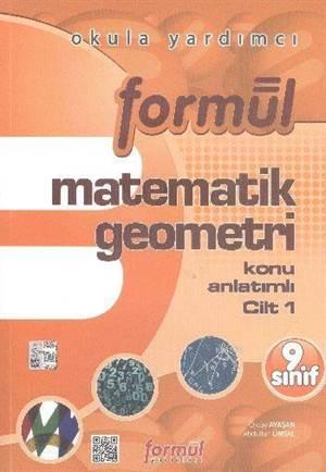Formül 9. Sınıf Matematik Geometri Konu Anlatımlı 2 Cilt