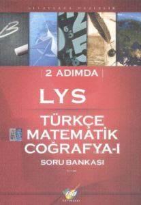 FDD 2 Adımda LYS Türkçe-Matematik-Coğrafya-1 Soru Bankası