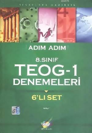 FDD Adım Adım 8. Sınıf TEOG-1 Denemeleri (6'lı)