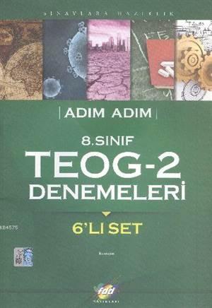FDD Adım Adım 8. Sınıf TEOG-2 Denemeleri - 6'lı