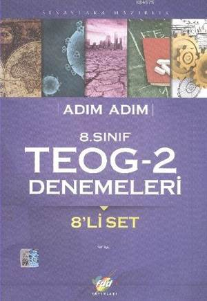 FDD Adım Adım 8. Sınıf TEOG-2 Denemeleri - 8'li