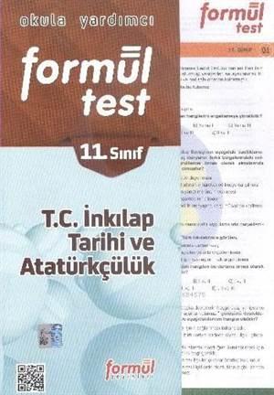 Formül 11. Sınıf T.C. İnkılap Tarihi ve Atatürkçülük Yaprak Testleri