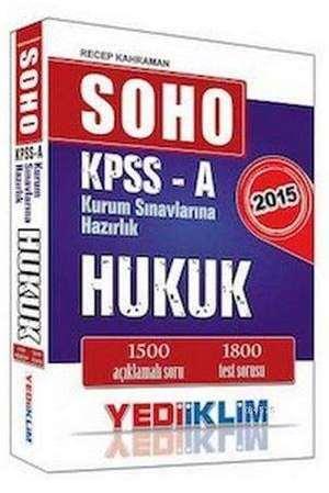 KPSS A Hukuk Soru Bankası (SOHO)