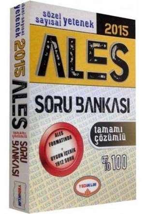 2015 ALES Tamamı Çözümlü Soru Bankası; Sözel - Sayısal Yetenek