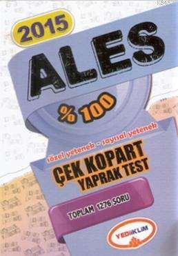 2015 %100 ALES Çek Kopart Yaprak Test