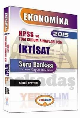 Yediiklim Ekonomika 2015 KPSS ve Tüm Kurum Sınavları İçin İktisat Soru Bankası