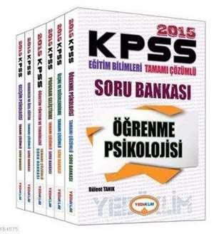 KPSS 2015 Eğitim Bilimleri Tamamı Çözümlü Soru Bankası