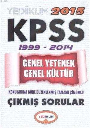KPSS Genel Yetenek-Genel Kültür 1999-2014 Tamamı Çözümlü Çıkmış Sorular