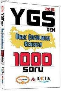 Ygs Den Önce Çözülmesi Gereken 1000 Soru