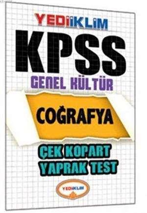 Kpss Coğrafya Çek Kopart Yaprak Test