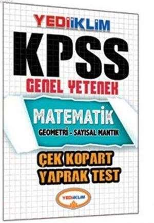 Kpss Matematik Çek Kopart Yaprak Test