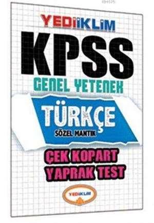 Kpss Türkçe Çek Kopart Yaprak Test