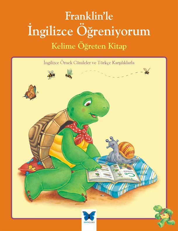 Franklin'le İngilizce Öğreniyorum-Kelime Öğreten Kitap