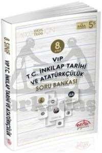 8.Sınıf Vip T.C. İnkılap Tarihi ve Atatürkçülük Soru Bankası