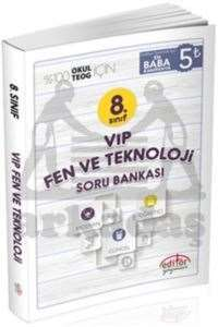 8.Sınıf Vip Fen ve Teknoloji Soru Bankası