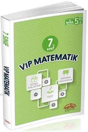 7. Sınıf Vip Matematik Konu Anlatımlı