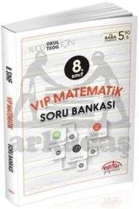 8.Sınıf Vip Matematik Soru Bankası