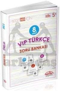 8.Sınıf Vip Türkçe Soru Bankası