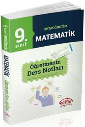 9. Sinif Ortaögretim Matematik Ögretmenin Ders Notlari