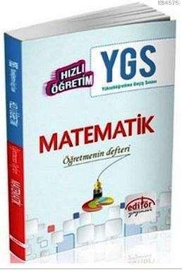 YGS Hızlı Öğretim Matematik Öğretmenin Defteri