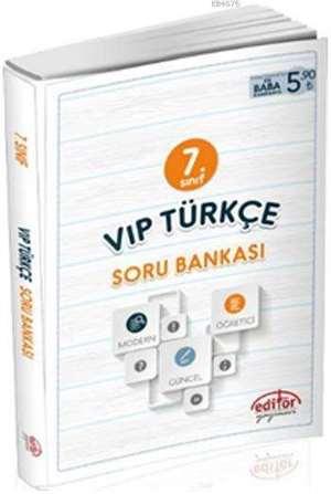 7. Sınıf Vip Türkçe Soru Bankası
