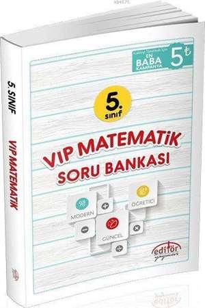 5. Sınıf Vip Matematik Soru Bankası