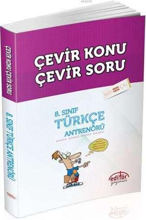 8. Sınıf Türkçe Antrenörü; Çevir Konu Çevir Soru