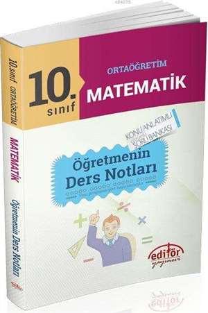 10. Sinif Matematik Ögretmenin Ders Notlari