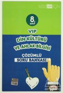 8. Sınıf Vip Din Kültürü Ve Ahlak Bilgisi Tamamı Çözümlü Soru Bankası