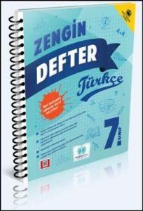 Sözün Özü 7. Sınıf Zengin Defter Türkçe