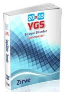 Ygs Sosyal Bilimler 20x45 Deneme