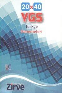 Ygs Türkçe 20X40 Deneme