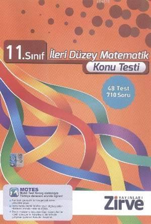 11. Sınıf İleri Düzey Matematik Konu Testi