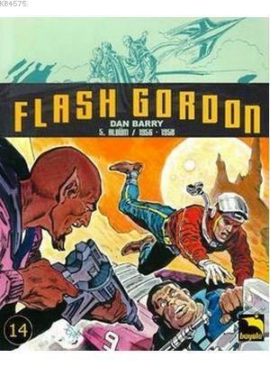 Flash Gordon Cilt 14 - 1956 - 1958 (5. Albüm)