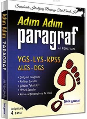 YGS LYS KPSS ALES DGS Adım Adım Paragraf