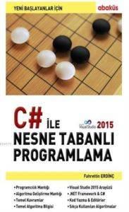 C# İle Nesne Tabanlı Programlama