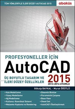 Profesyoneller İçin Autocad 2015