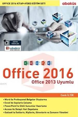 Office 2016 (Kitap+Video Eğitim Seti)